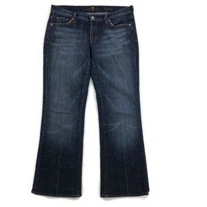 7 For All Mankind Bootcut 7FAM Stretch Jeans Sz 30